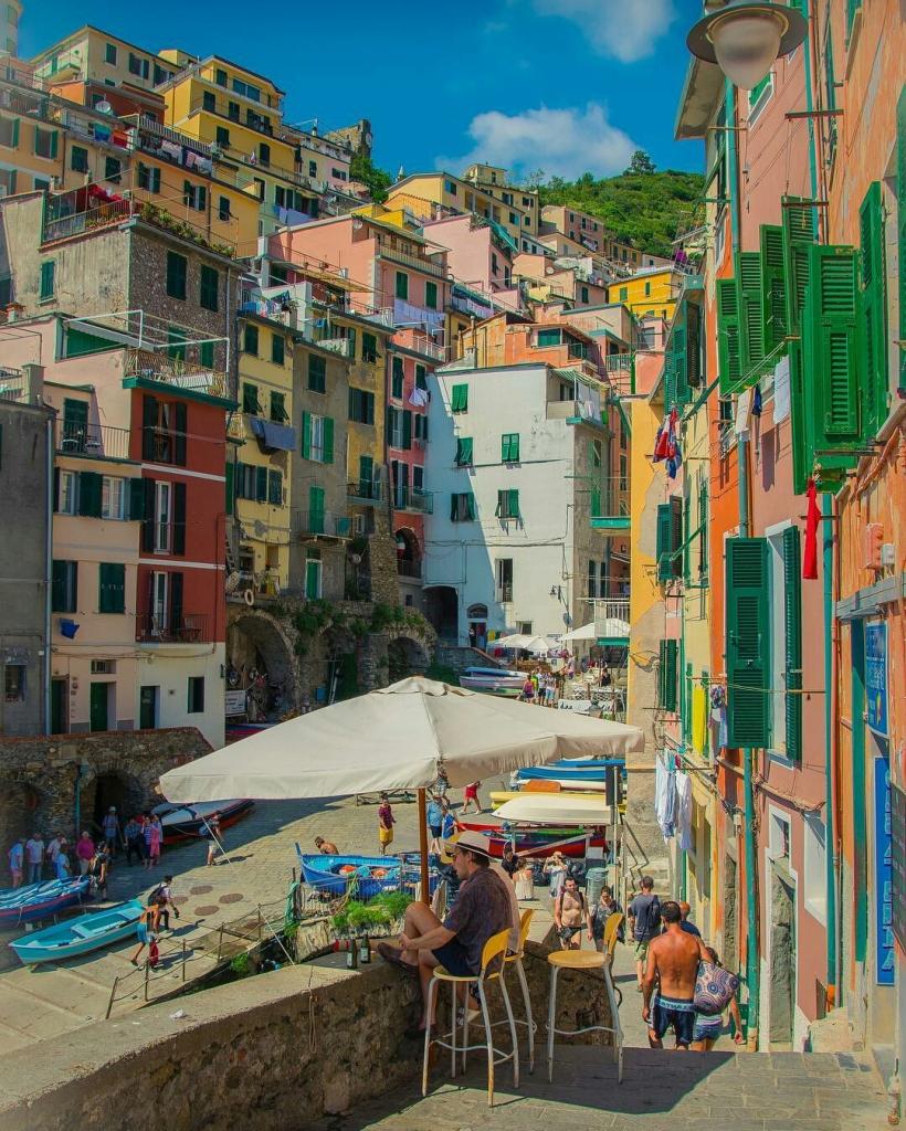 Cinque Terre, Riomaggiore, Ligurië