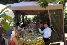 Feest in Villa Pellegrino