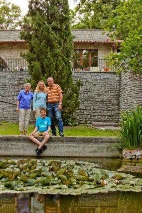 Tuin van Villa Pellegrino