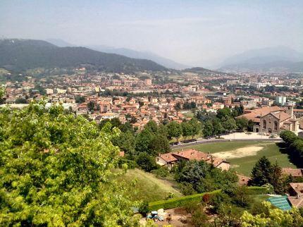 Uitzicht Parco Rocca