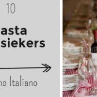 10 pasta klassiekers
