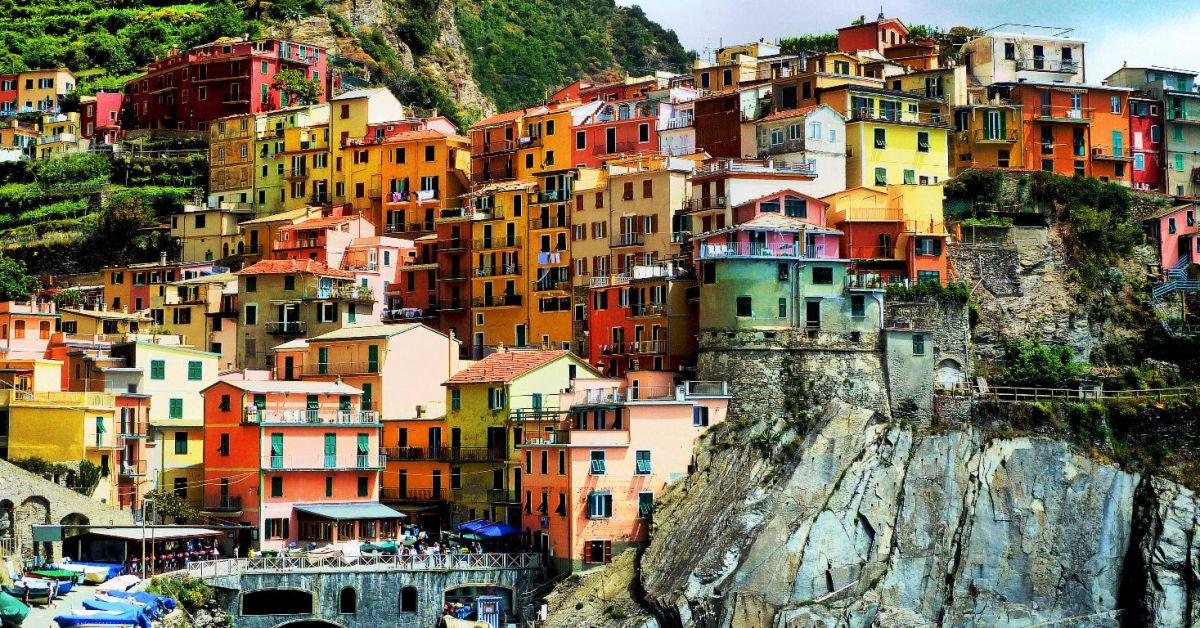 De kleuren van Cinque Terre