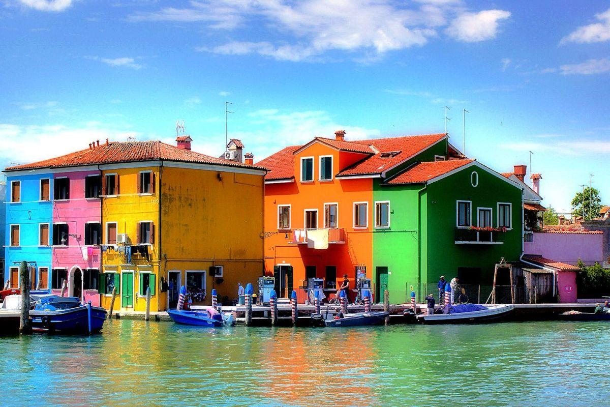 3 eilanden in de lagune van Venetië