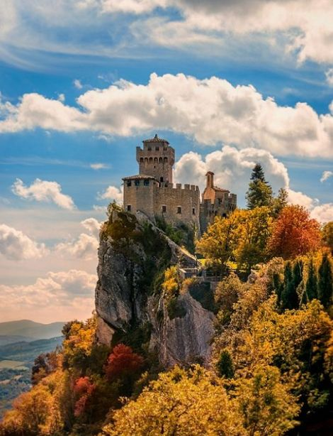 San Marino, Le Marche