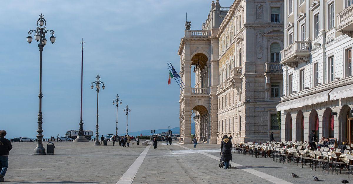 Een rustige hoek van Italië…Triëst