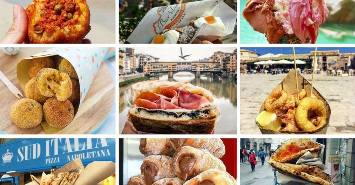Street food van Italië