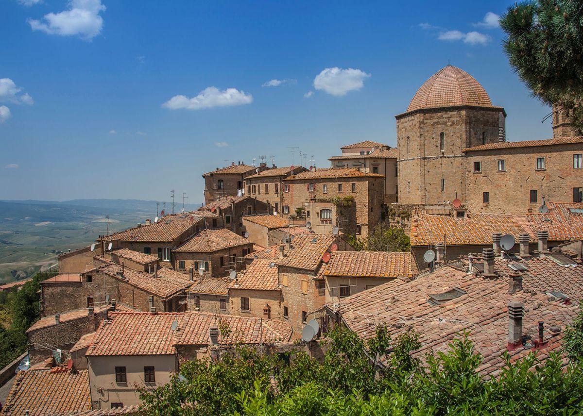Volterra, de stad van albast