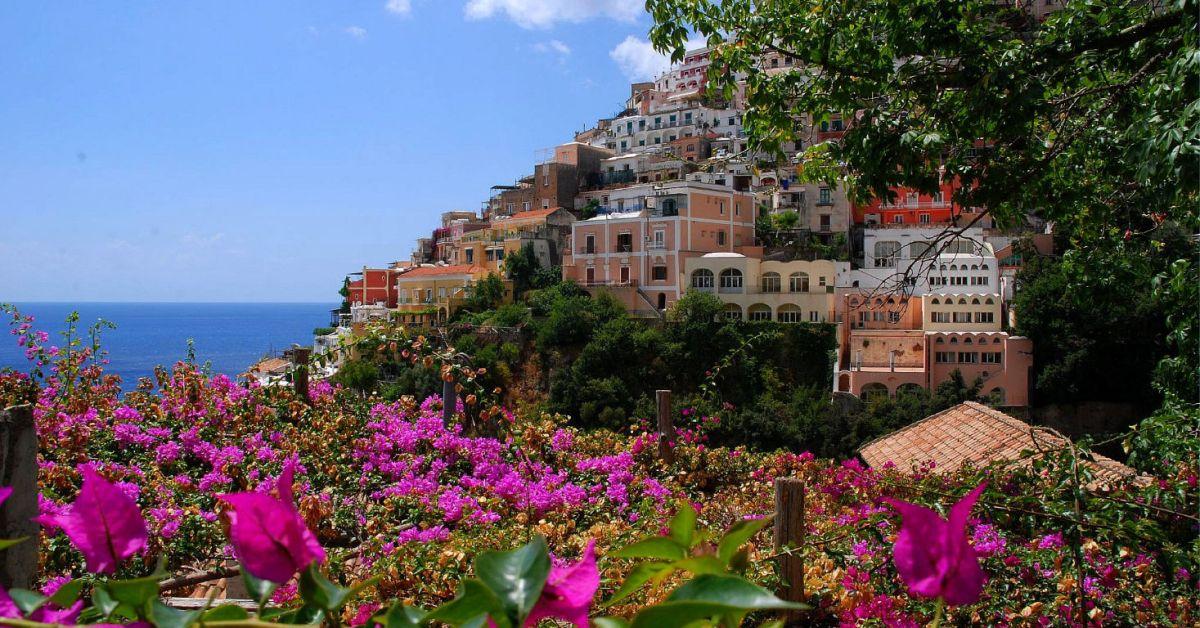 De allure van de Amalfikust