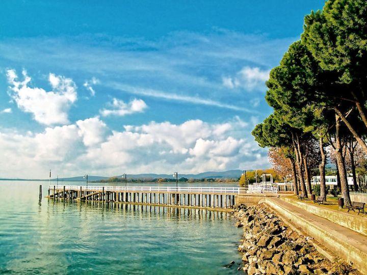 Passignano sul Trasimeno, Trasimeno meer, Umbrië
