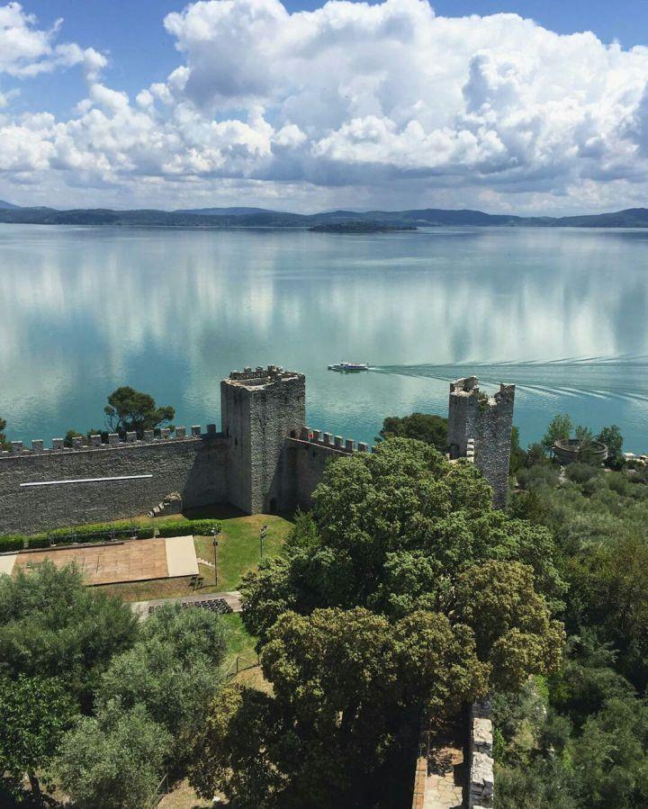 Castiglione del Lago, Trasimeno meer, Umbrië