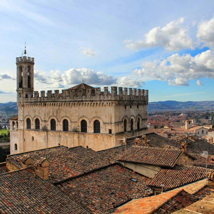 Gubbio, Umbrië