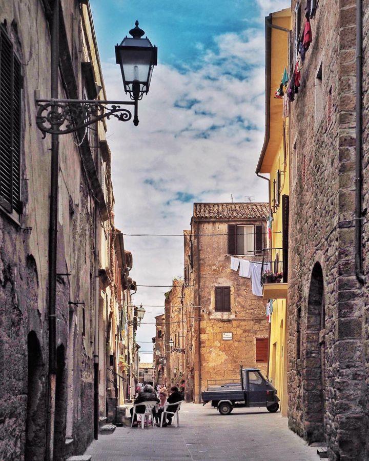 Pittigliano, Toscane