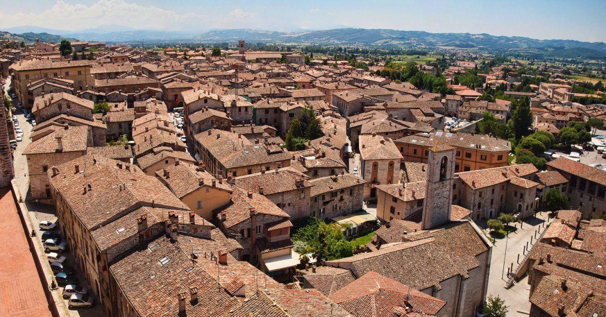 Gubbio, de gekkenstad