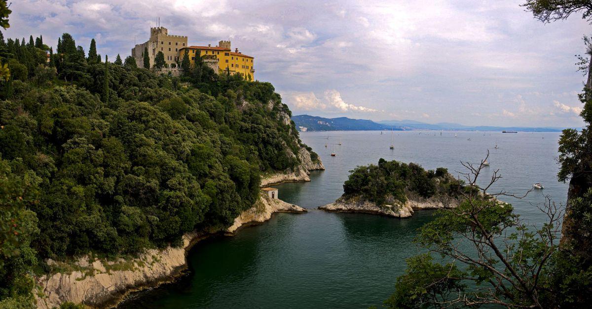 De kust van Friuli-Venezia Giulia