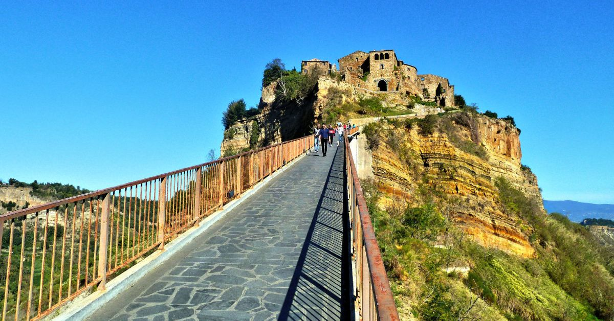 Civita di Bagnoregio, de stad die sterft