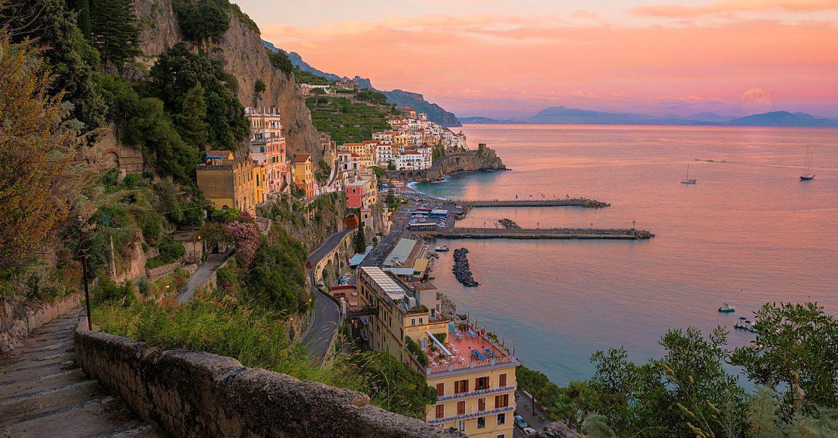 De schoonheid van de Amalfikust
